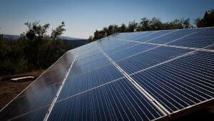 solar panels in reverie retreat